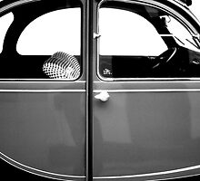 2CV Gray by Daniel Sorine