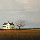 """Abandoned"" Farm House Landscape by ToniGrote"