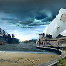 Sydney Harbour Apocalypse by watertigerleo