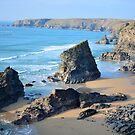 """ Bedruthan Steps 2015 "" by Richard Couchman"