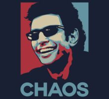 Ian Malcolm 'Chaos' T-Shirt by Tabner