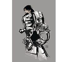 Robot -Girl Photographic Print