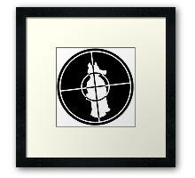 QuasiTarget! Framed Print