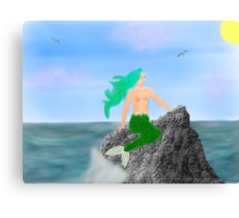 Sea Nymph Canvas Print