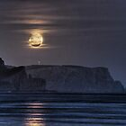 Tasman Moonrise by Colin Butterworth