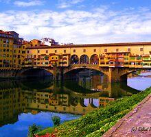 Ponte Vecchio by Roland Pozo