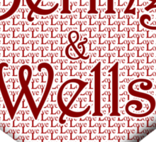 Bering and Wells Happy Valentines Day Sticker