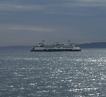 A Washington State Ferry by Henri Irizarri