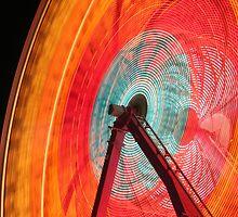 Ferris Wheel at Night by Alex Meyer