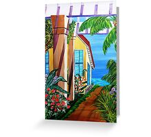 KITCHEN ALLEY Greeting Card
