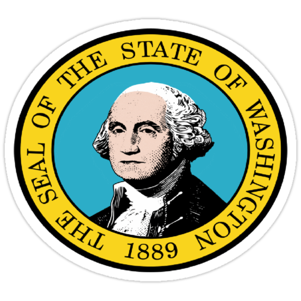 WASHINGTON STATE SEAL by OTIS PORRITT