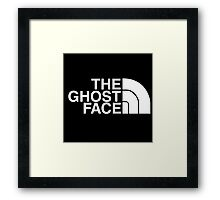 The Ghost Face Framed Print