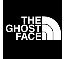The Ghost Face Photographic Print