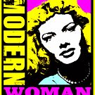 DAYGLO DAYS-MODERN WOMAN by OTIS PORRITT