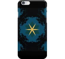Flower Knight 1 [BLACK] iPhone Case/Skin