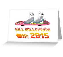 Hill Valley Expo Greeting Card