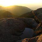Sunrise Puddle, San Louis Peak, CO 2008 by J.D. Grubb