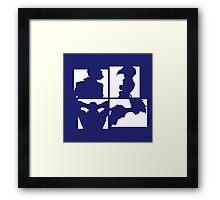 Cowboy Bebop Silhouettes (2nd color). Framed Print