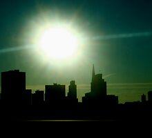 San Francisco Sunset by Andrea Barnett