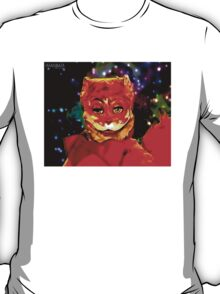 Tim And Eric Puppet CAT Oil Painting T-Shirt