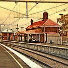 Yarraville Station -- Victoria, Australia by © Helen Chierego