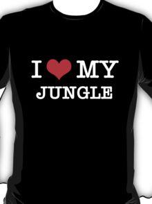 I Love My Jungle - Black  T-Shirt