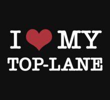 I Love My TOP-LANE  [Black] by aihin