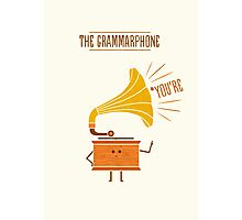 Grammarphone Photographic Print