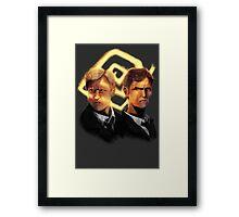 Detectives Framed Print