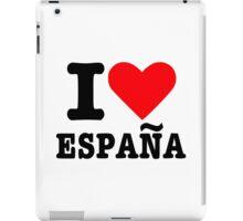 I love España Spain iPad Case/Skin