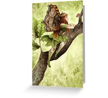 Oak Fairy Greeting Card
