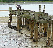 Low Tide At Fahan Pier..........................................Ireland by Fara