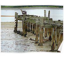 Low Tide At Fahan Pier..........................................Ireland Poster