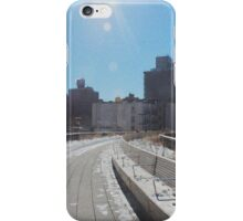The Highline, Disused converted rail track NYC iPhone Case/Skin