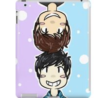Dan & Phil design 1 - Purple/Blue iPad Case/Skin