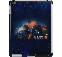 Mass Furball iPad Case/Skin