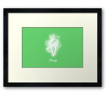 Harry Potter Patronus Valentines: Snape, Always Framed Print