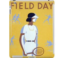 Field Day iPad Case/Skin