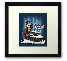 Wand and the Wizard Framed Print