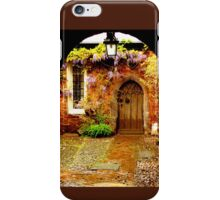 Mysterious Door iPhone Case/Skin