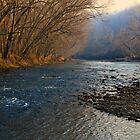White River NW Arkansas Ozarks by NatureGreeting Cards ©ccwri