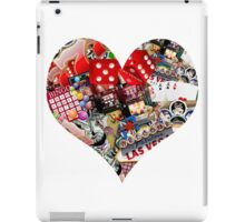 Heart - Las Vegas Playing Card Shape  iPad Case/Skin