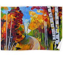 Autumn Trail Poster
