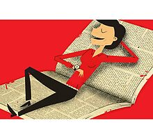 Relax with a book by Ben Sanders