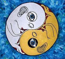 Yin and Yang by Lidiya