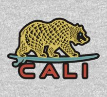 Cali Bear (Yellow with Black Border) T-Shirt