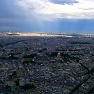 Eiffel Sunspot from the Very Top by wildrose1723