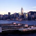 Hong Kong Dusk by WoAi