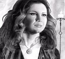 Faith  Hill- pencil drawing  by toolyman2