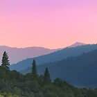 Sunrise over Northern California Mountains by argmoth